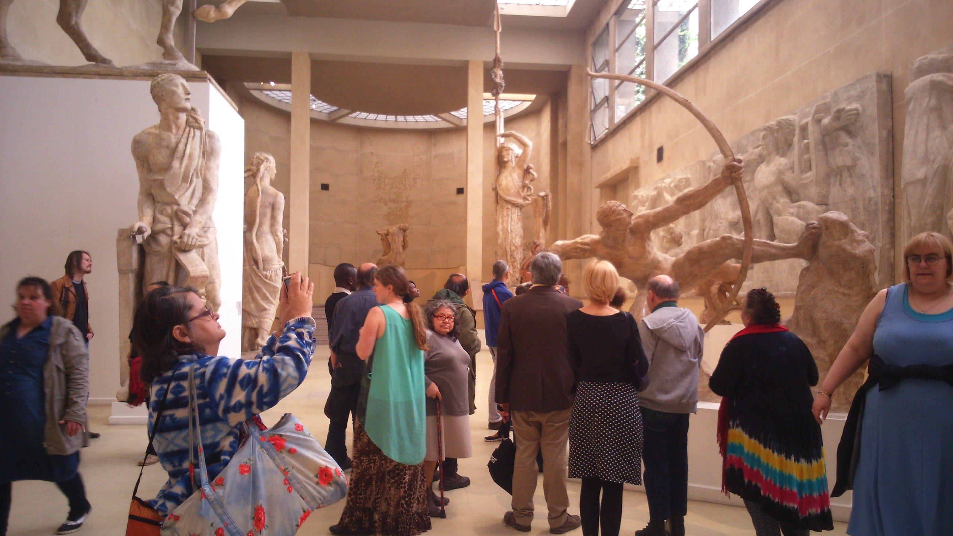 ATD_Musée Bourdelle_visite salle sculptures monumentales_2016 05 07