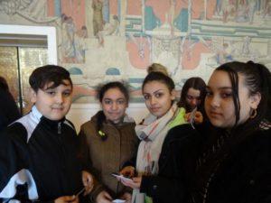 Moi, je suis allée au Louvre avec l'école pour voir l'Egypte dit Rebeca, mais je voudrais y retourner pour voir d'autre chose.